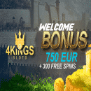 A Spinomenal Dedicated Promotions runs at casino 4KingSlots