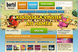 Bertil Casino Review