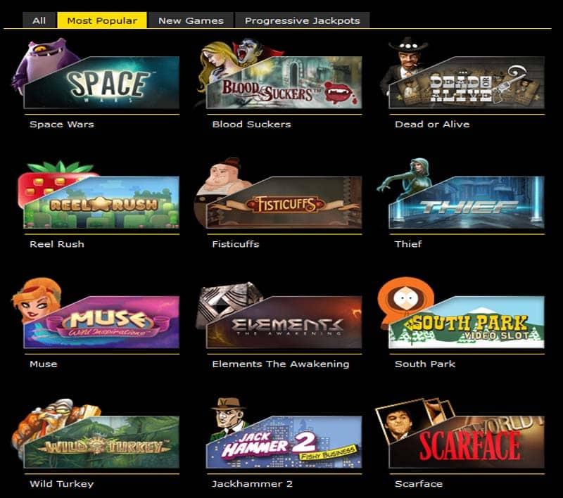 CBM Casino Games