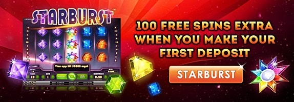 100 Free Spins On Starburst From Cardbet