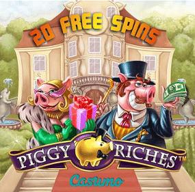 Casumo 20 Free Spins