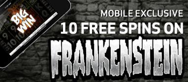 Frankenstein touch free spins