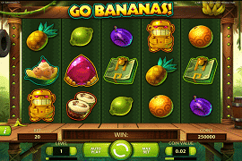 GoBananas Slot at Mad Slots