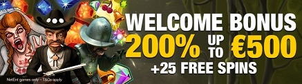 25 Free Spins Twin Spin