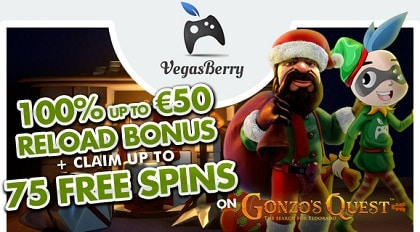 Gonzo Quest 75 free spins