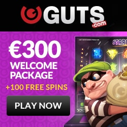 Book of Dead €50,000 Cash Giveaway by Guts casino
