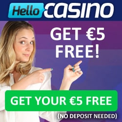 Hello Casino provides Free Spins on The Legend of Shangri-La