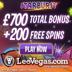 LeoVegas Casino Promotion