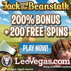 LeoVegas 200 Free Spins