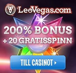 LeoVegas 100 Free Spins