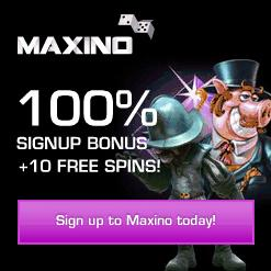 Maxino free spins