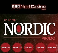 nordic promo at Nextcasino