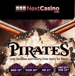 Nextcasino pirates