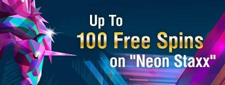 NoenStaxx 100 freespins