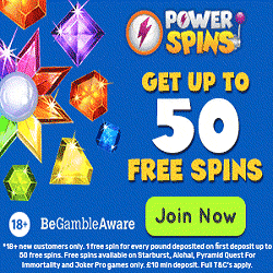 1,000,000 Free Spins awaits at the Power Spins casino
