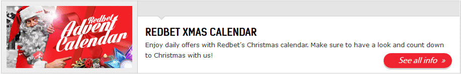 Christmas Time At RedBet
