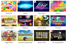 Games at Redbet