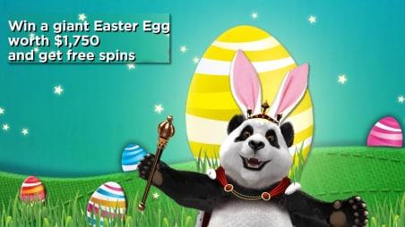 Easter Egg & 50 Free Spins