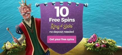 No Deposit Free Spins at Casino Saga
