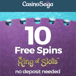No Deposit Free Spins at Casino Saga