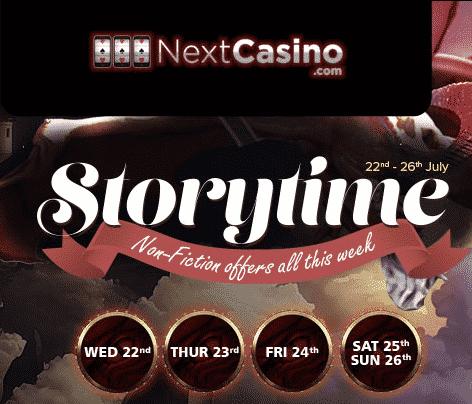 Storytime At Next Casino