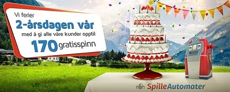 SpilleAutomater casino turns 2 years old