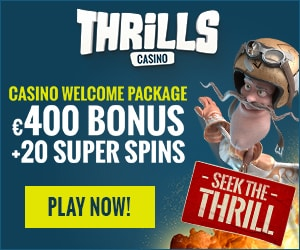 Thrills Casino Promotion