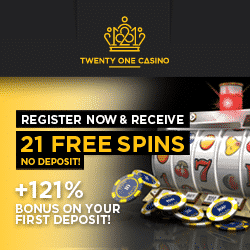 twenty one casino no deposit bonus