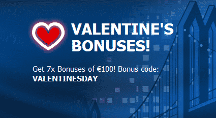 Valentine`s Reload Bonuses