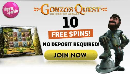 vera john casino free spins