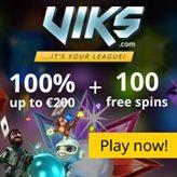 Jackpot slots with Free Spins at Viks