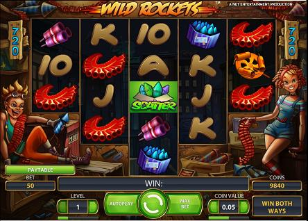 Wild Rockets slot machinet