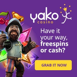 The Easter Bunny came to Yako Casino early this year