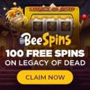 Play new slots with Today's Special bonus from casino Bee Spins