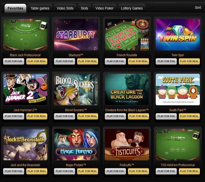 Cashpoint Casino Games