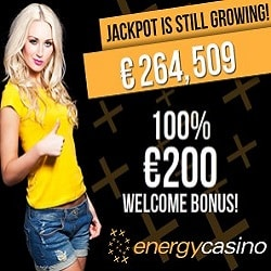 Energy Casino Promotion