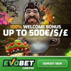 Evobet Casino Promotion