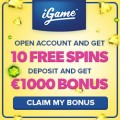iGame bonusspins september