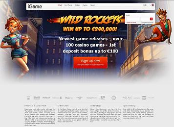 iGame home page