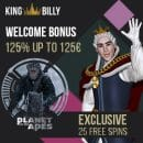 King Billy presents: 220 Free Spins Tournament