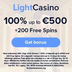 LightCasino Promotion