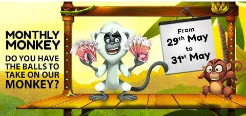 Bonus Monkey Up To £500 Bonus