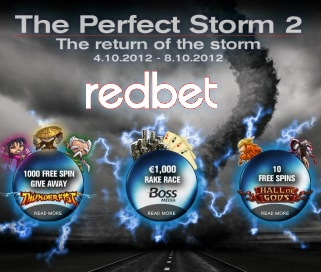 RedBet Perfect Storm 2