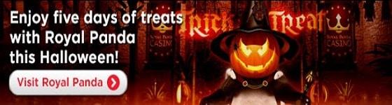 Royal Panda Casino Halloween 2014