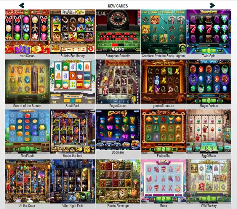 Sieger Casino Games