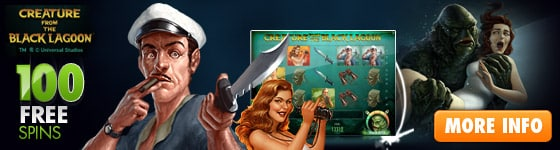 Creature From The Black Lagoon Free Spins