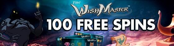 100 Wish Master Free Spins