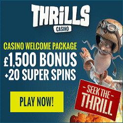 Thrills Casino Promotion