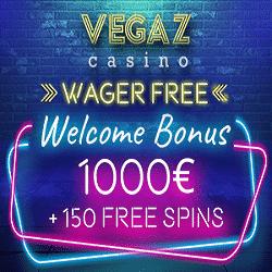 Vegaz Casino Free Spins